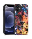 Design voor de iPhone 12 Mini hoesje - Jungle - Leeuw
