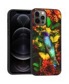 Design voor de iPhone 12 (Pro) hoesje - Jungle - Vogel