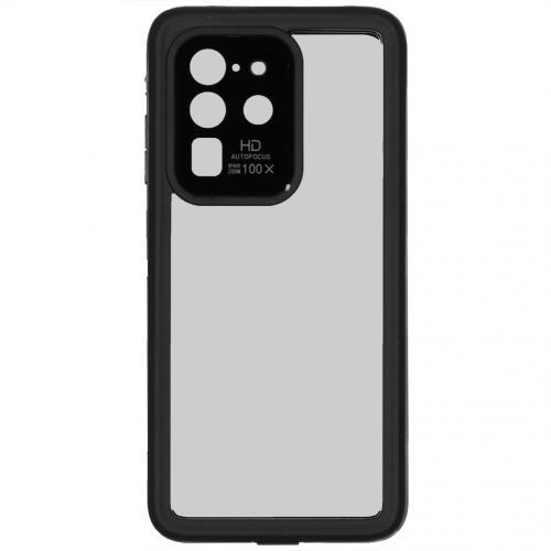 Dot Plus Waterproof Backcover voor de Samsung Galaxy S20 Ultra - Zwart