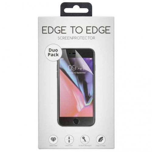 Duo Pack Anti-fingerprint Screenprotector voor de Samsung Galaxy S10