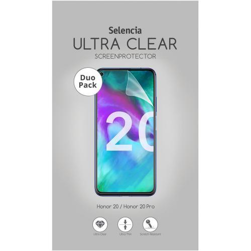 Duo Pack Ultra Clear Screenprotector voor de Honor 20 / Honor 20 Pro