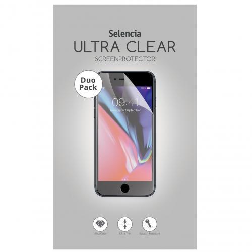 Duo Pack Ultra Clear Screenprotector voor Nokia 7.1