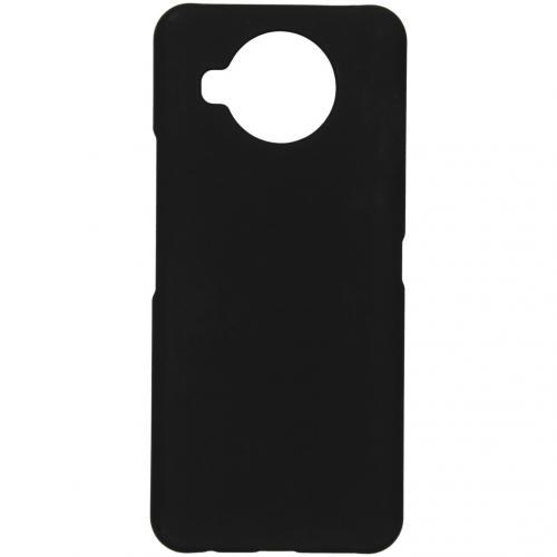 Effen Backcover voor de Nokia 8.3 5G - Zwart