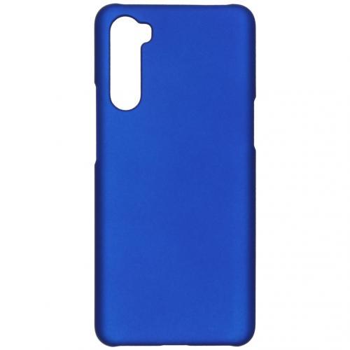 Effen Backcover voor de OnePlus Nord - Blauw