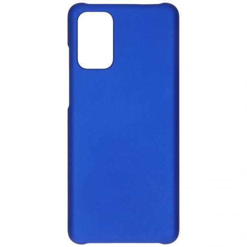 Effen Backcover voor de Samsung Galaxy S20 Plus - Blauw