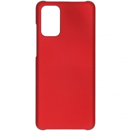 Effen Backcover voor de Samsung Galaxy S20 Plus - Rood