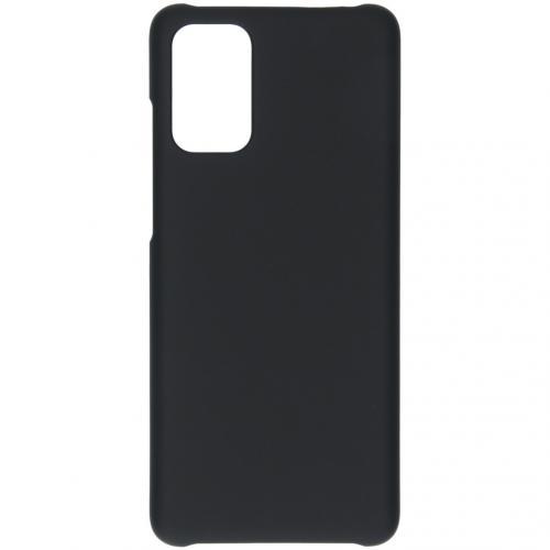 Effen Backcover voor de Samsung Galaxy S20 Plus - Zwart