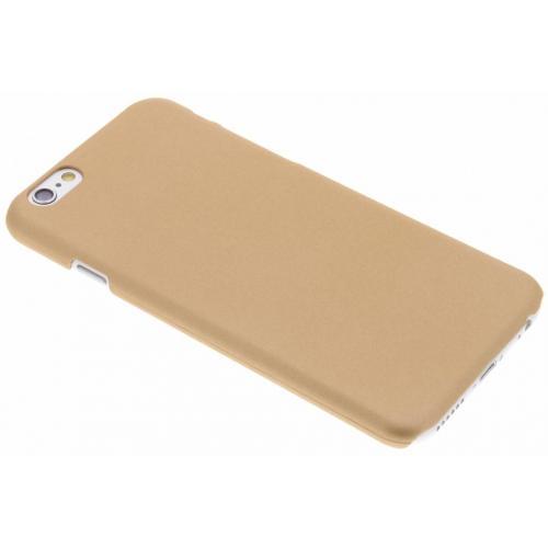 Effen Backcover voor iPhone 6 / 6s - Goud