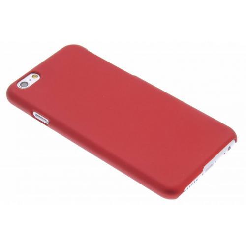 Effen Backcover voor iPhone 6 / 6s - Rood