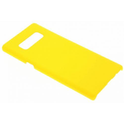 Effen Backcover voor Samsung Galaxy Note 8 - Geel