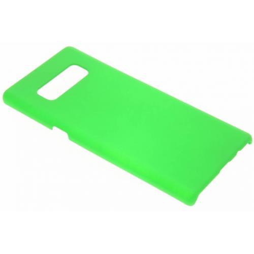 Effen Backcover voor Samsung Galaxy Note 8 - Groen