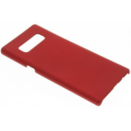Effen Backcover voor Samsung Galaxy Note 8 - Rood