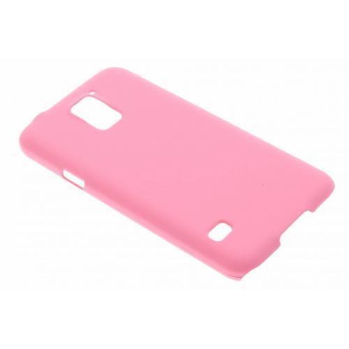 Effen Backcover voor Samsung Galaxy S5 (Plus) / Neo - Roze
