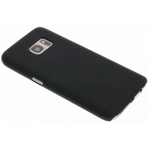 Effen Backcover voor Samsung Galaxy S7 - Zwart