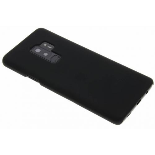 Effen Backcover voor Samsung Galaxy S9 Plus - Zwart
