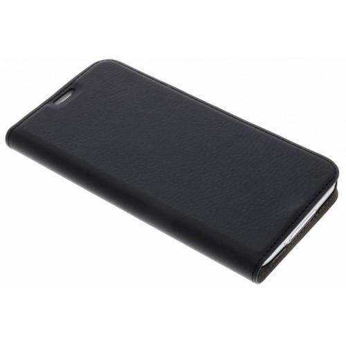 Effen Hardcase Booktype voor Samsung Galaxy S5 (Plus) / Neo - Zwart
