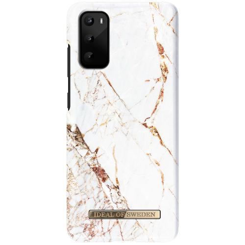 Fashion Backcover voor de Samsung Galaxy S20 - Carrara Gold