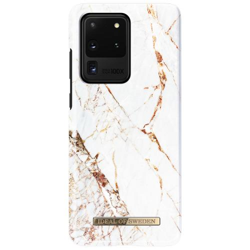 Fashion Backcover voor de Samsung Galaxy S20 Ultra - Carrara Gold