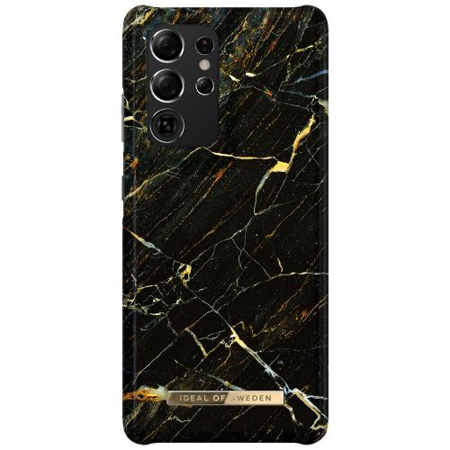 Fashion Backcover voor de Samsung Galaxy S21 Ultra - Port Laurent Marble