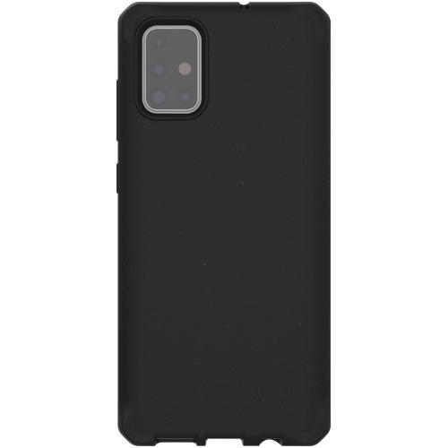 Feronia Bio Backcover voor de Samsung Galaxy A71 - Zwart