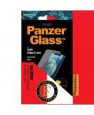 Feyenoord Case Friendly Screenprotector voor de iPhone 12 Mini - Zwart