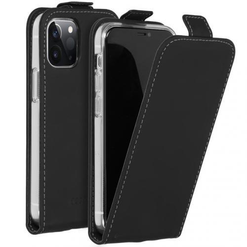 Flipcase voor de iPhone 12 5.4 inch - Zwart