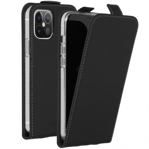 Flipcase voor de iPhone 12 6.1 inch - Zwart