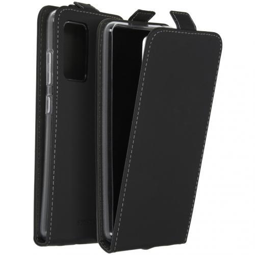 Flipcase voor de Samsung Galaxy A52 (5G) / A52 (4G) - Zwart