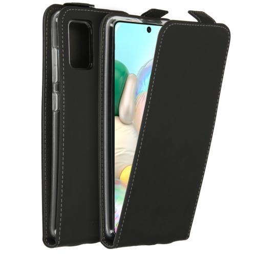 Flipcase voor de Samsung Galaxy A71 - Zwart