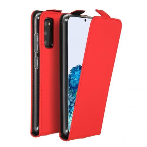 Flipcase voor de Samsung Galaxy S20 - Rood