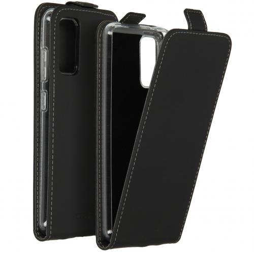 Flipcase voor de Samsung Galaxy S20 - Zwart