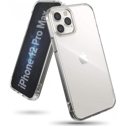Fusion Backcover voor iPhone 12 Pro Max - Transparant