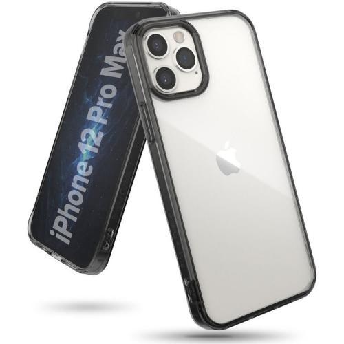 Fusion Backcover voor iPhone 12 Pro Max - Zwart