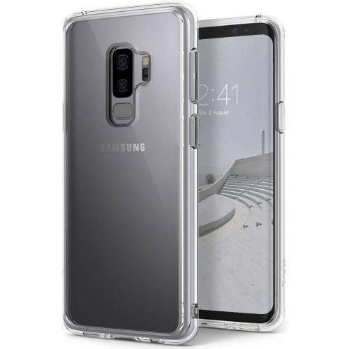 Fusion Backcover voor Samsung Galaxy S9 Plus - Transparant
