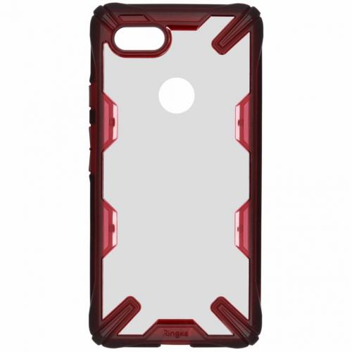 Fusion X Backcover voor Google Pixel 3 XL - Rood