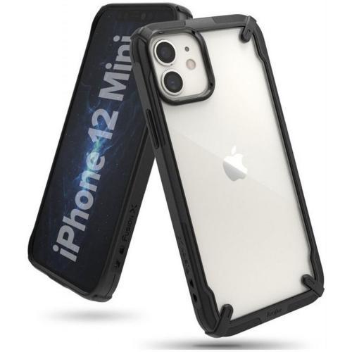 Fusion X Backcover voor iPhone 12 Mini - Zwart