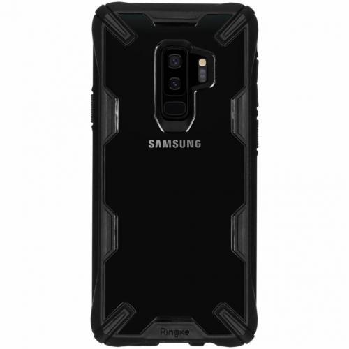 Fusion X Backcover voor Samsung Galaxy S9 Plus - Zwart