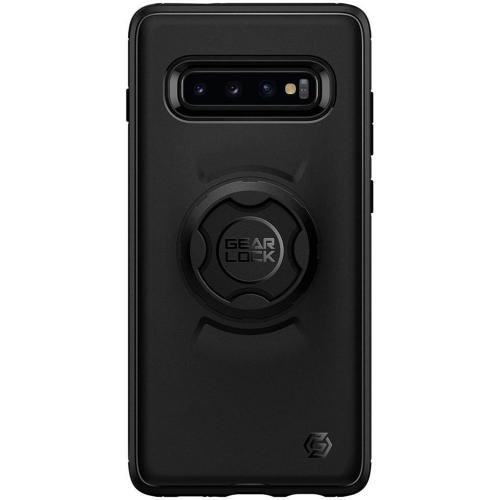 Gearlock Bike Mount Backcover voor de Samsung Galaxy S10 - Zwart