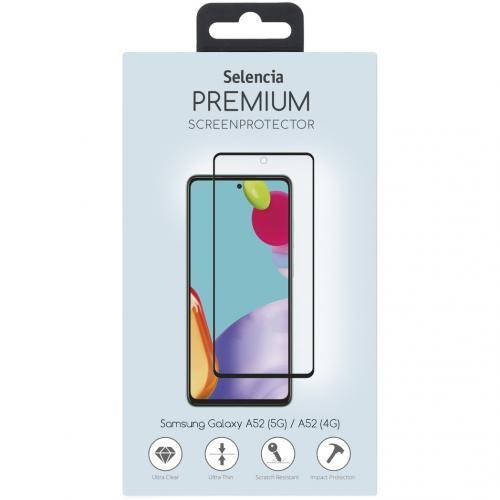 Gehard Glas Premium Screenprotector Samsung Galaxy A52 (5G) / A52 (4G) - Zwart