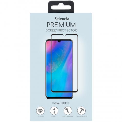Gehard Glas Premium Screenprotector voor de Huawei P30 Pro - Zwart