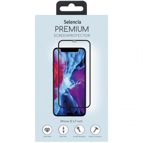 Gehard Glas Premium Screenprotector voor de iPhone 12 6.7 inch - Zwart