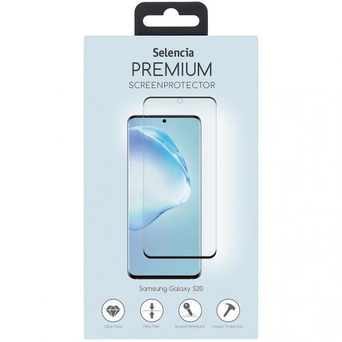 Gehard Glas Premium Screenprotector voor de Samsung Galaxy S20 - Zwart