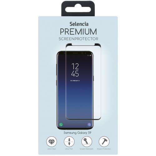 Gehard Glas Premium Screenprotector voor Samsung Galaxy S9 Plus - Zwart