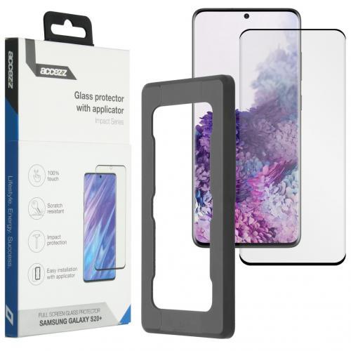 Glass Screenprotector + Applicator voor de Samsung Galaxy S20 Plus