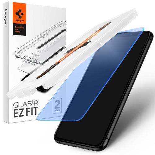 GLAStR Anti Blue Light EZ Fit Screenprotector + Applicator voor de iPhone 12 Pro Max