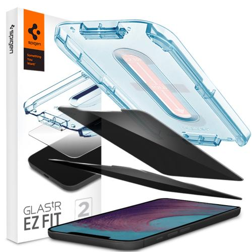 GLAStR Privacy EZ Fit Screenprotector + Applicator voor de iPhone 12 Pro Max