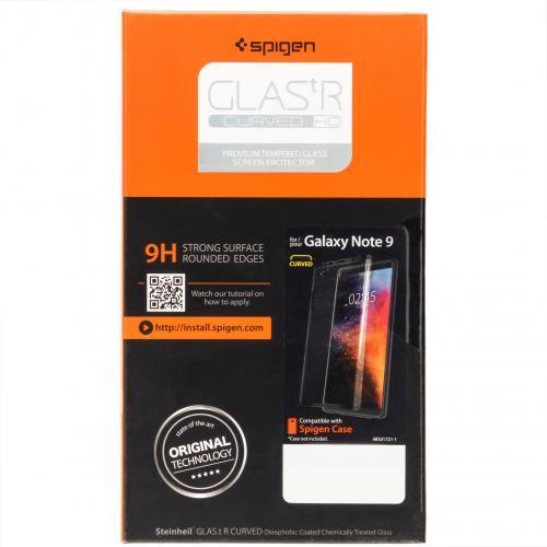 GLAStR Screenprotector voor de Samsung Galaxy Note 9 - Zwart