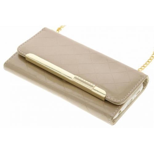 Glossy Portemonnee voor Samsung Galaxy S7 - Goud