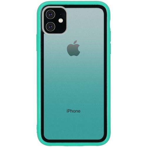 Gradient Backcover voor de iPhone 11 - Groen