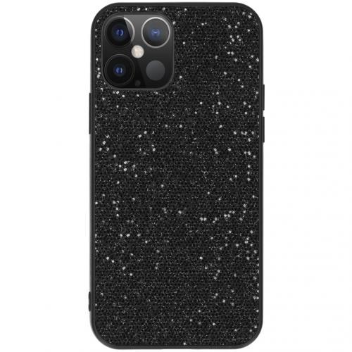 Hardcase Backcover voor de iPhone 12 6.1 inch - Glitter